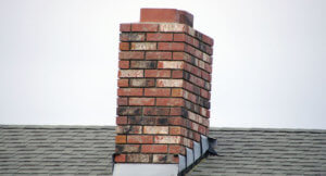 leaning chimney