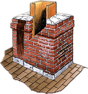 chimney water penetration